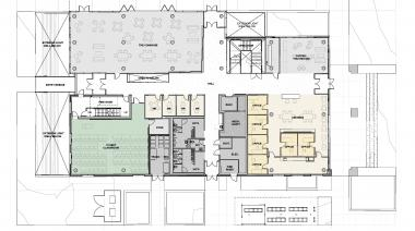 Tykeson Hall 1st Floor Plan