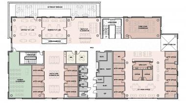 Tykeson Hall 3rd Floor Plan