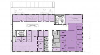 Tykeson Hall 4th Floor Plan