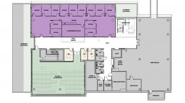 Tykeson Hall Basement Floor Plan